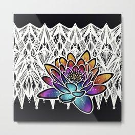 Lotus- Catalyst Gardens Metal Print