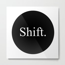 shift typewriter key [ 3 ] Metal Print