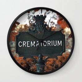 Crematorium Wall Clock