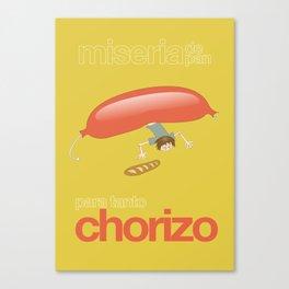 Chorizo Canvas Print