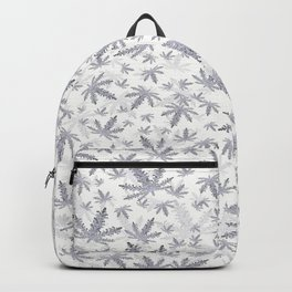 CannaBlizzard in White Backpack