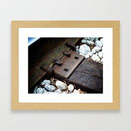 The Tracks 2 Framed Art Print