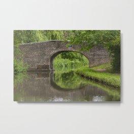 Bridge 99 Meadow Bridge Metal Print