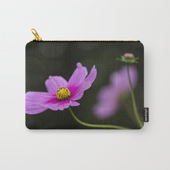 pink Cosmea summer flower Carry-All Pouch