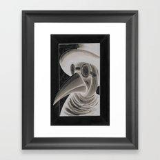 the doctor inverted Framed Art Print