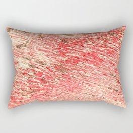 pattern rosecolored Rectangular Pillow