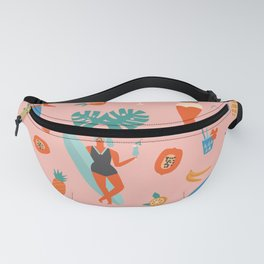 Tiki party Fanny Pack