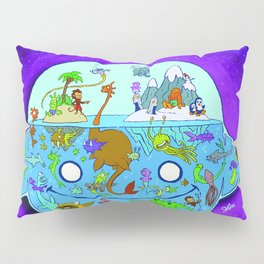 The World Within can be a Crowded Place Pillow Sham