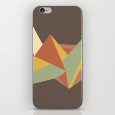 Abstract Crane iPhone & iPod Skin