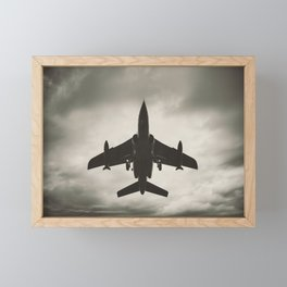 Fighting the Skies Framed Mini Art Print