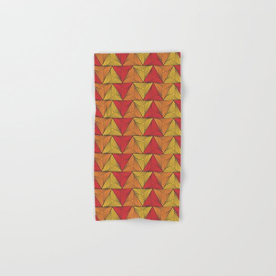 Geometric  Hand & Bath Towel
