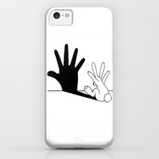Rabbit Hand Shadow iPhone 5c Slim Case