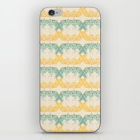 foxes iPhone & iPod Skins featuring Foxes by Akwaflorell