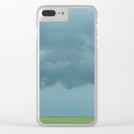 Storm Clouds // Landscape Photography Clear iPhone Case