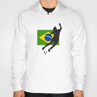 brazil Hoodies featuring Brazil - WWC by Alrkeaton