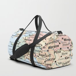 World Map Europe Duffle Bag