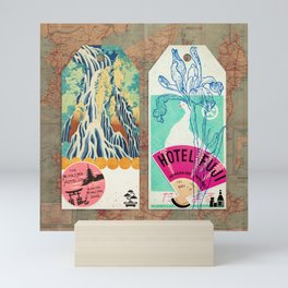 Label Fables, Japan I :: Fine Art Collage Mini Art Print