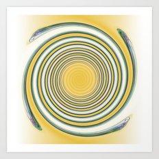 Winding Spiral Art Print