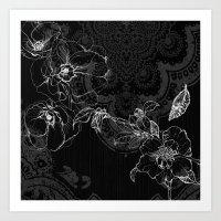 Botanical Collage #3 Art Print
