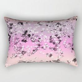 Unicorn Girls Glitter Stars #8 #shiny #decor #art #society6 Rectangular Pillow