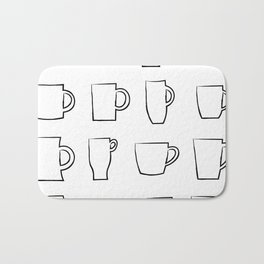 Mug Assortment Bath Mat