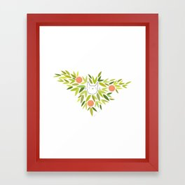 Clementine Cat Framed Art Print