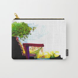Gypsy River Architectural Illustration 89 Carry-All Pouch