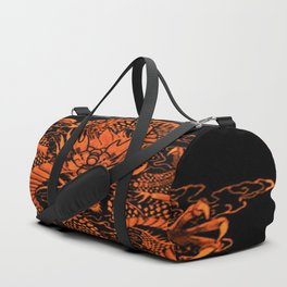 Epic Dragon Orange Duffle Bag