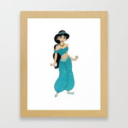 Princess Jasmin Framed Art Print