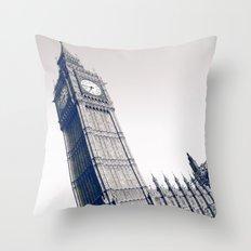 Big Blue Ben Throw Pillow