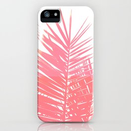 Plant Life in Pink iPhone Case