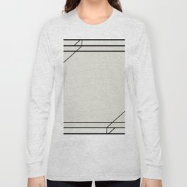 Art Deco Frame Long Sleeve T-shirt