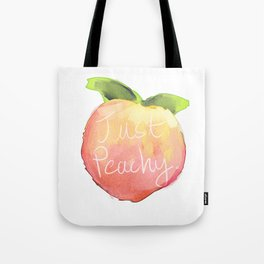 just peachy Tote Bag