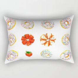 Strawberry Icing Rectangular Pillow