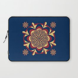 tricolor mandala oattern Laptop Sleeve