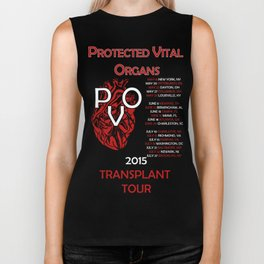 Protected Vital Organs Alternate Color Scheme Biker Tank