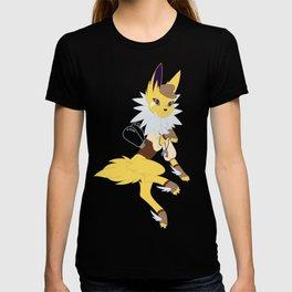 Electric Stampunk Fox T-shirt