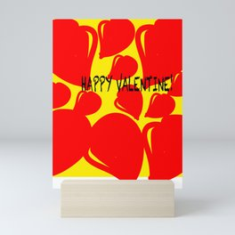 Happy Valentine! Mini Art Print