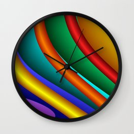 3D for duffle bags and more -15- Wall Clock