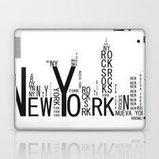 NEW YORK Laptop & iPad Skin