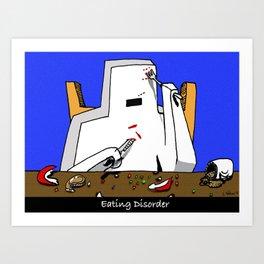 Eating Disorder Art Print