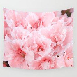 Pink Azalea Flower Dream #2 #floral #decor #art #society6 Wall Tapestry