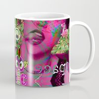 miley Mugs featuring MILEY PYTON by Riot Clothing