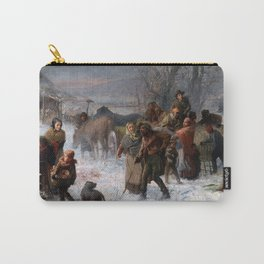Charles T. Webber The Underground Railroad Carry-All Pouch