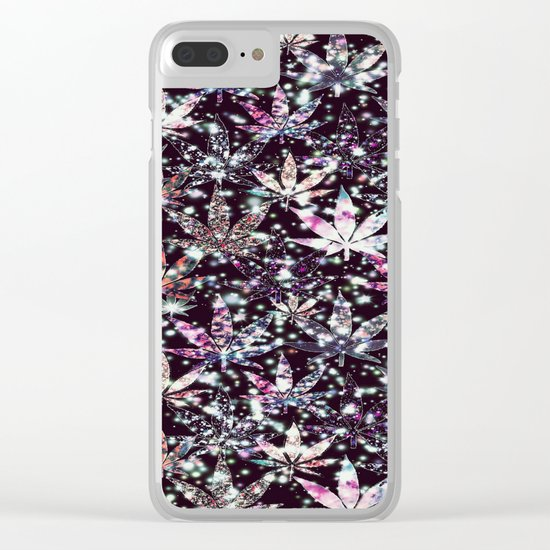 gorgeous weed-126 Clear iPhone Case