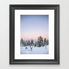 Alpen Glow Framed Art Print