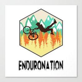 Enduronation Superman Canvas Print