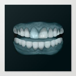 Blue Tooth 2 Canvas Print
