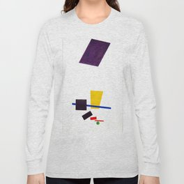 Kazimir Malevich - Painterly Realism of a Football Player—Color Masses in the 4th Dimension (new edi Long Sleeve T-shirt