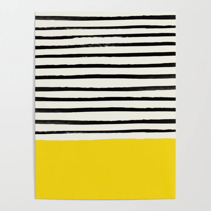 Sunshine x Stripes Poster